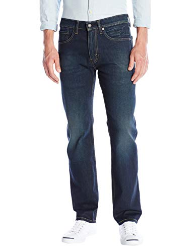Levi's 505 Regular Fit - Jeans da Uomo Ago in Legno di Pino, Elasticizzato. 32W x 30L