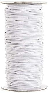 Trimming Shop Cordón elástico de 2 mm de ancho, banda elá