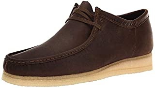 CLARKS - Mens Wallabee Shoe, Size: 13 D(M) US, Color: Chestnut Leather (B07766K369) | Amazon price tracker / tracking, Amazon price history charts, Amazon price watches, Amazon price drop alerts