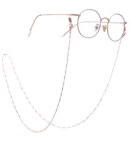 VASSAGO Correa de acero inoxidable para gafas de sol, cadena de gafas de sol, correa de regalo para mujeres