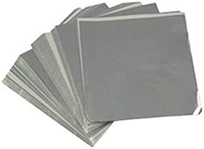 Candy Molds low-pricing N More 4 x Silver OFFicial shop Confectionery Wrappers inch Foil