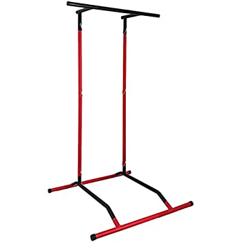 Pull Up Bar Free-Standing Pull Up Bar Free-Standing Dip Station Portable Power Tower Home Sport Equipment Strength Training Workout Easily Store and Carry