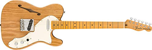 Fender エレキギター American Original 60s Telecaster® Thinline, Maple Fingerboard, Aged Natural