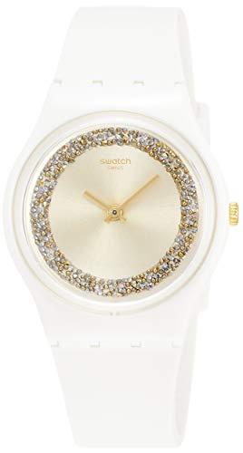 Swatch Reloj Analógico para Hombre de Cuarzo con Correa en Silicona GW199