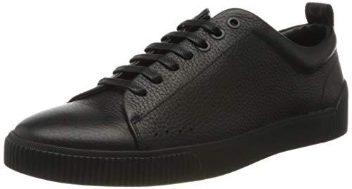 HUGO Herren Zero_Tenn_gr Sneaker, Schwarz (Black 001), 45 EU