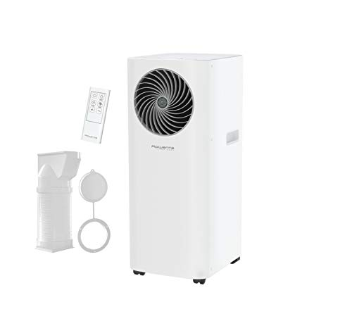 Rowenta Turbo Cool Condizionatore mobile locale Potente, Eco-Energetico, 3 in 1, Deumidificatore, Ventilatore AU5010F0
