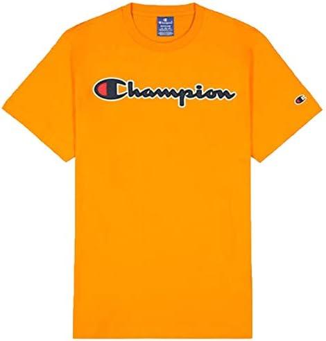 Champion T-Shirt Camiseta Logo Manga Corta para Hombres
