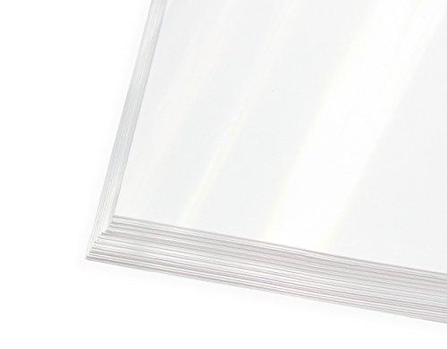 Digitaler Siebdruckfilm | Inkjetfilm | Polyesterfilm, 50 Blatt DIN A3