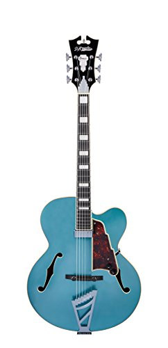 D'Angelico Premier EXL-1 Hollow-Body Electric Guitar w/ Stairstep Tailpiece - Ocean Turquoise