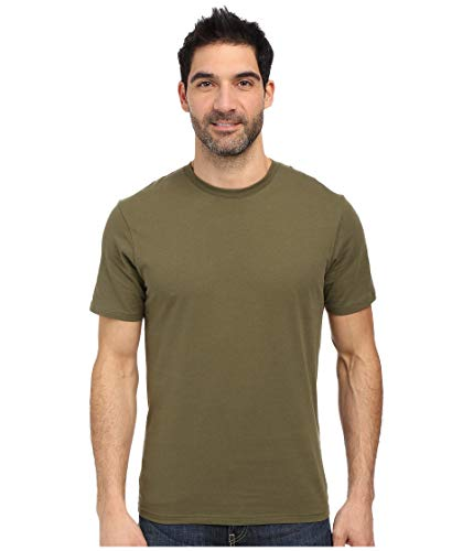 Under Armour Uni T-Shirt Tactical Charged Cotton Tee Heat Gear Regular Fit, Olivgrün, Medium