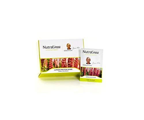 NutraLinea Lupinen Protein Eiweiß Shake mit Macawurzel Extrakt und Inulin kalorienarm vegetarisch 20 Päckchen á 18g in den Geschmacksrichtungen Vanille, Lemon und Schoko (Vanille)