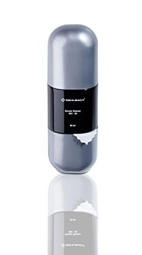 Oehlbach SSC-60 - Reinigungs-Set für TV, TFT (Reiniger für LCD, LED, Plasma, OLED - inkl. hochwertigem Microfasertuch und hochergiebigem Reiniger)