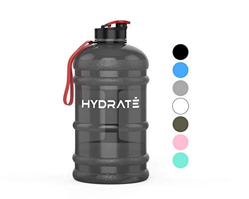 HYDRATE XL Jug 2.2 Litre Water Bottle - BPA Free, Flip Cap,...