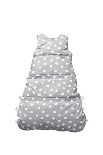 Set ARO Artländer Daunenschlafsack mit Stoffwindel von Kinderhaus Blaubär/Winterschlafsack längenverstellbar/Baby-Schlafsack mit Premiumdaunen