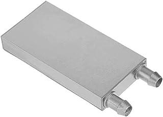 Xsentuals Aluminum Water Liquid Cooler Block Heatsink for Computer CPU Radiator (80 x 40 x 12)