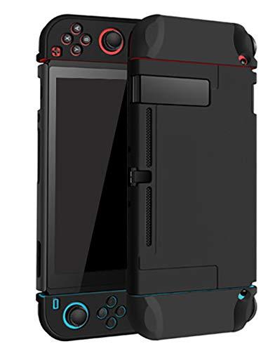 Estuche acoplable para Nintendo Switch Funda protectora de transporte rígida Carcasa para Nintendo Switch Console Joy Con Controller Negro