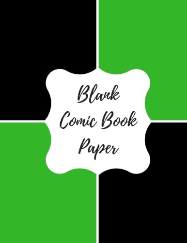 Blank Comic Book Paper: Blank/ Empty Cartoon Strips  8.5 x 11 in 100 Pages Multi Panels Comic Book Paper Template Journal Notebook Format. Build Your Own Comic Book