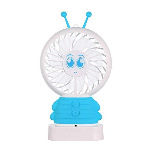 CLASSICOCO Smart Voice ventilator, spraakbesturing, ventilator, smart ventilator, USB-ventilator, draagbare ventilator, nachtlampje, ventilator, spraakbesturing, ventilator