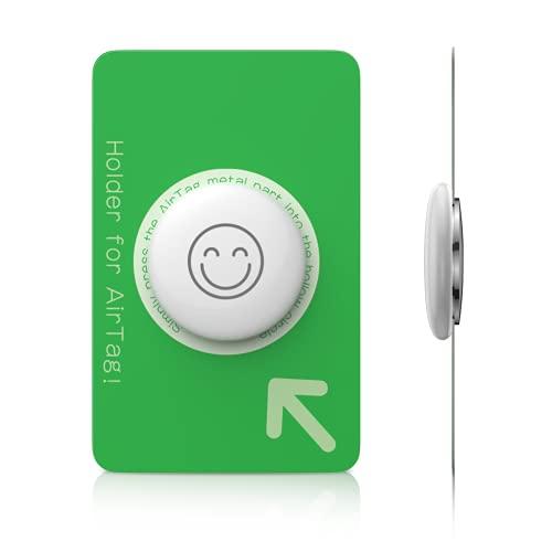 Air Tag ウォレットホルダー、Air Tag用のLIFELICIOUSカードホルダー。[財布にAir Tagを入れやすい][2バッグ]