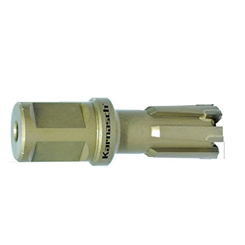 webkaufhaus24 Hartmetall-bestückter Kernbohrer, Weldonschaft 19 mm, Nutzlänge 25 mm, Hardox-Line25 / Rail-Line25 Pro, d=14mm
