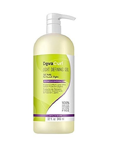 Deva Curl Light Defining Gel, 32 oz