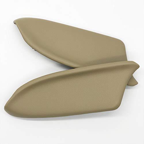 DKIIGAME Accord Armrest Replacement,Vinyl Front Door Panels Armrest Lid Pad for 2008-2012 Honda Accord Sedan (Beige)