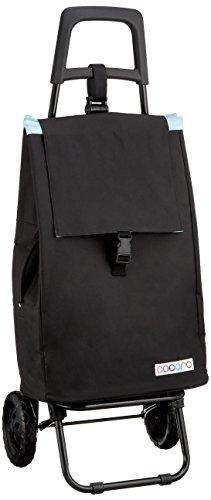レップ(REP) ショッピングカート ブラック 容量40L 保冷 買い物 バッグ らくらく COCORO(コ・コロ) 424346