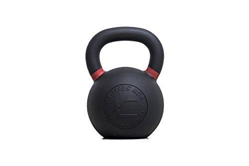 Xenios USA PSCIKBLH32, Kettlebell Evolution Unisex-Adulto, Nero/Rosso, 32 kg