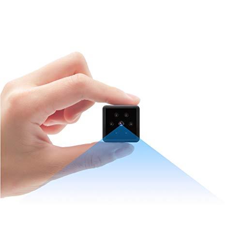 Cámara espía, Mini Camara Espia 1080P HD Cámara Espía de Seguridad con Visión Nocturna Detección de Movimiento Grabación en bucle Mini Camara para Interiores o Exteriores Admite Tarjeta Micro SD de 128 GB