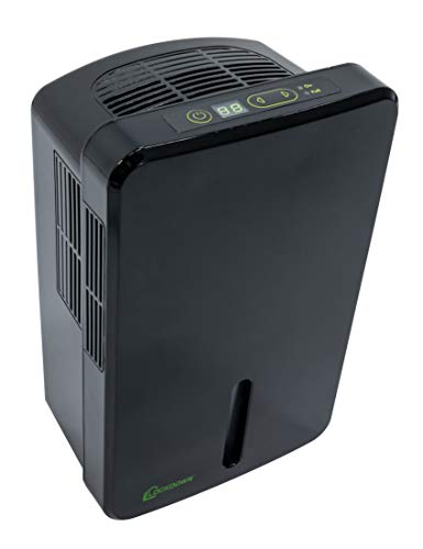 LOCKDOWN Automatic Dehumidifier with Quiet Operation, Drain Hose and Self Monitoring Controls for Humidity Control in Small Rooms, Safes and Closets