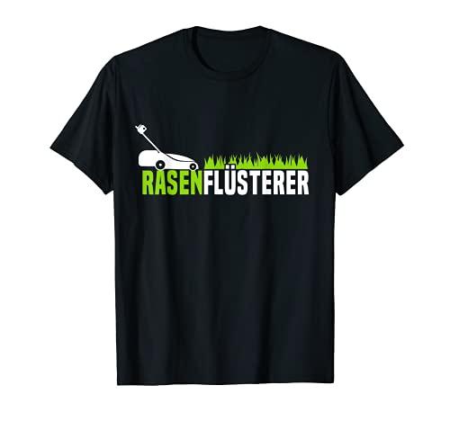 Garten Sprüche Kleingärtner Rasenflüsterer Kleingarten Rasen T-Shirt