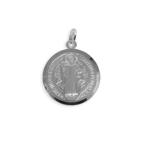 Heiliger Benedikt Medaille Anhänger Durchmesser 12mm