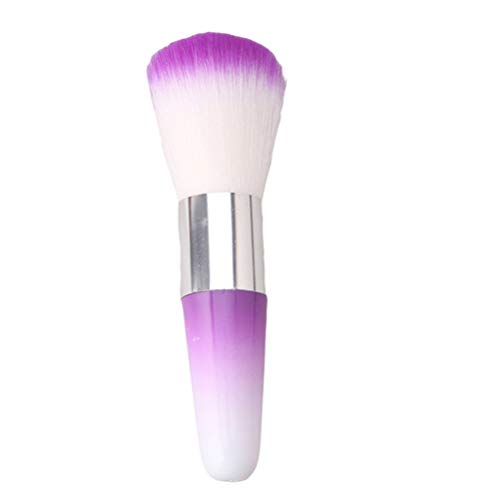 Flybloom Makeup Brush Foundation Facial Beauty Makeup Cosmetic Tools (Violet)