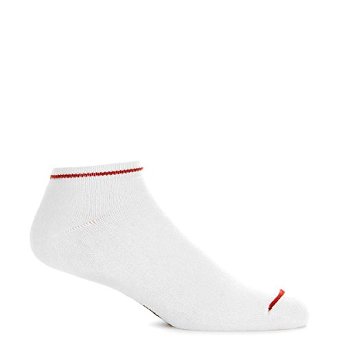 Independent Original Bar Cross Low Socks White One Size
