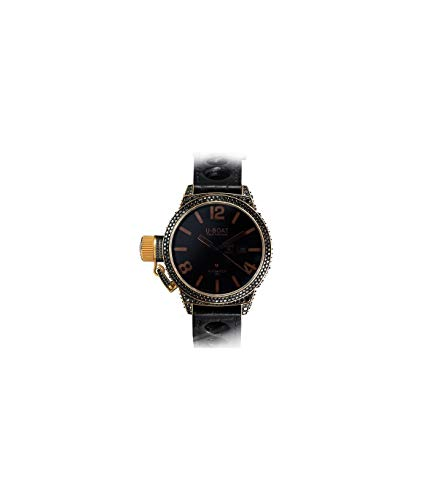 Montre Automatique U-Boat Black Swan, Or 18k, Diamants, 45mm, 8000