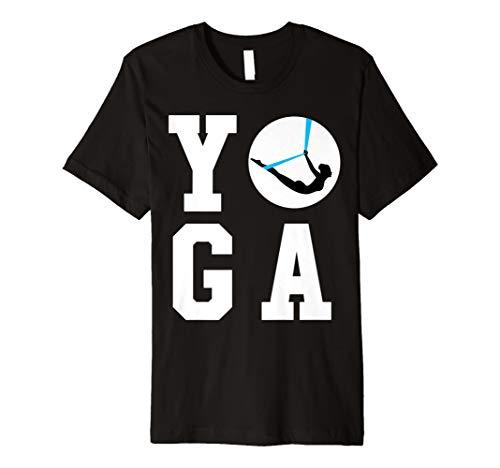 Anti Gravity Yoga Pose Sixth Posture - Aerial Yoga T-Shirt