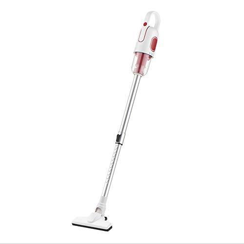 Aspiradora sin bolsa con cable, aspiradora ligera para alfombras y suelos duros