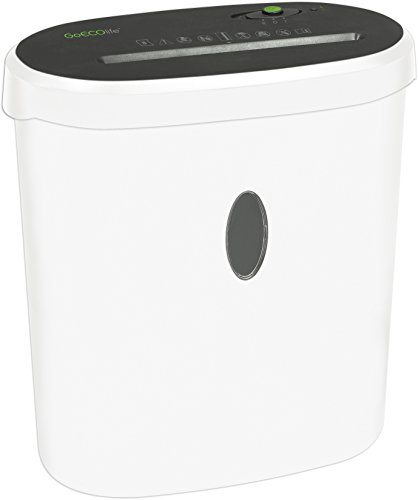 Why Should You Buy GoECOlife Limited Edition GMW81B 8-Sheet High Security Microcut Paper Shredder