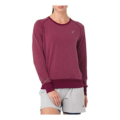 ASICS - Camiseta para Mujer, Talla pequeña, Color cordobés