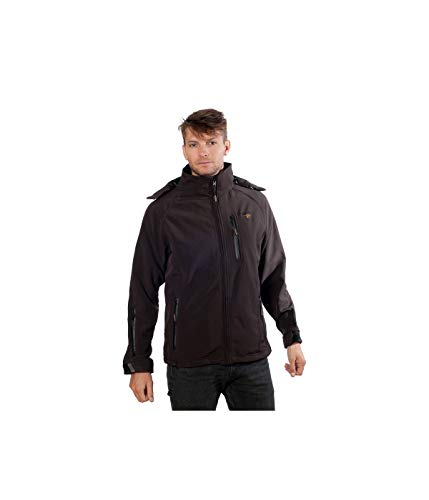 Geographical Norway - Softshell Geographical Norway Tony Hood Choco-Taille - S