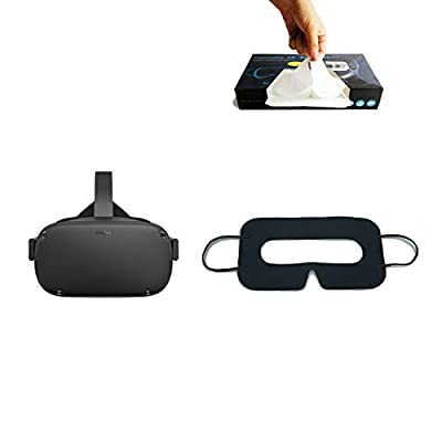 Disposable VR Mask - UV-Sterilized VR Disposable Face Mask - for Oculus Quest/PS VR/Gear VR - Boxed 100pcs
