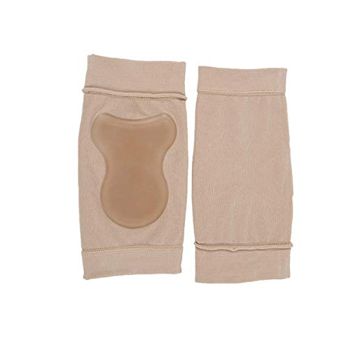 SUPVOX 1 paire de chaussettes à talon en gel hydratant en silicone pour une peau sèche et craquelée (kaki)