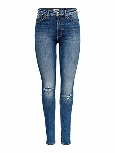 ONLY Female Skinny Fit Jeans ONLPaola Life HW...
