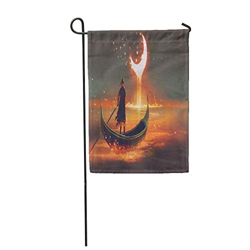 La Mano de la Bandera del jardín llega a Apple on Tree Pop Retro Comic Book Home Yard House Decor Barnner Outdoor Stand Flag
