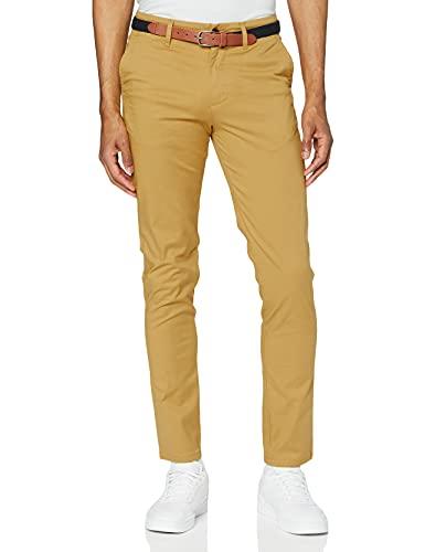 Pantalones amarillos skinny para hombre