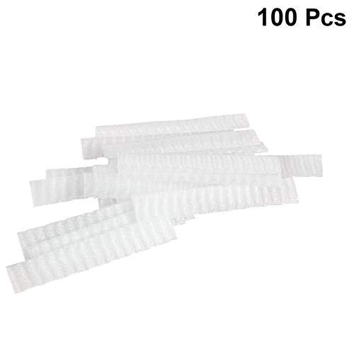 EXCEART 100 Pcs en Plastique Maille Couvercle de Protection Emballage Net pour Les Femmes Maquillage Pinceaux de Stockage