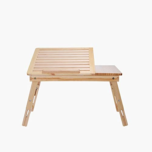 PULLEY-C Lazy Table - Escritorio para ordenador portátil con escritorio plegable simple en el hogar dormitorio mesa perezosa C