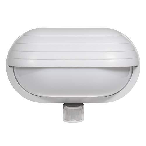 Maclean Energy MCE33 - Aplique de pared con detector de movimiento 180° Sensor de luz