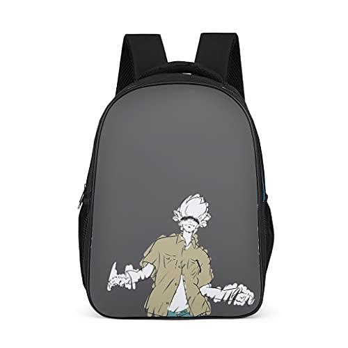 Mochila Jujutsu Kaisen Sukuna Design Bookbag resistente al agua Daypack Senderismo para adolescentes y niños pequeños, color, talla Talla única