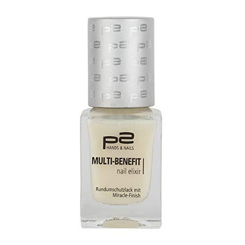 3x p2 cosmetics Nagelpflege Nail Serum 177807 Multi-Benefit Nail Elixir